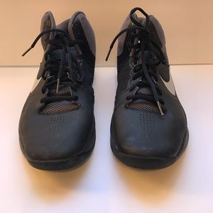 NIKE Air men's black sneakers size 9